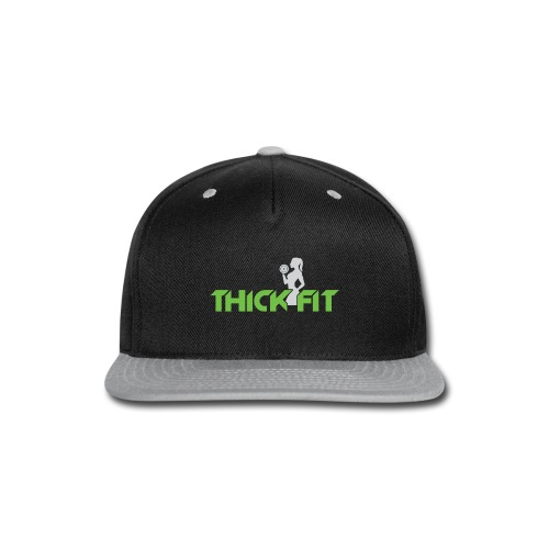 thick_fit_green_without_tag_line - Snap-back Baseball Cap