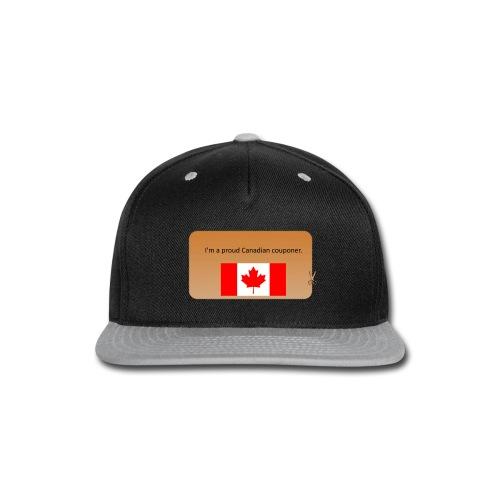 Canadian Couponer - Snap-back Baseball Cap