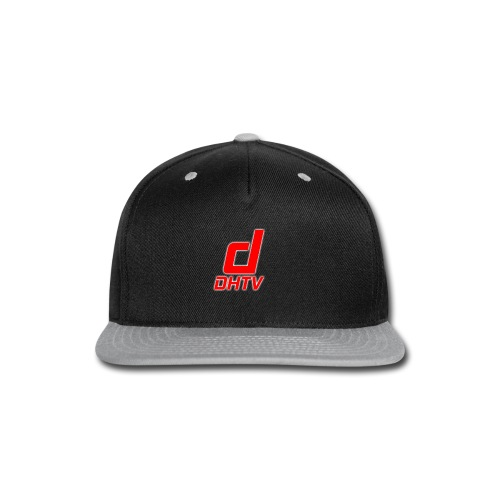 DHTV_Logo_New - Snap-back Baseball Cap