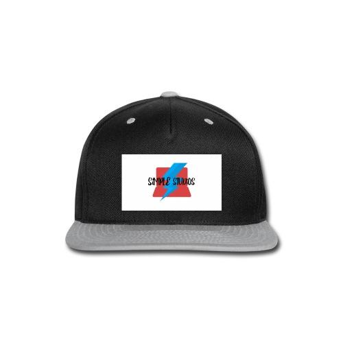 Simple Studios Prototype T-Shirt (White) - Snap-back Baseball Cap