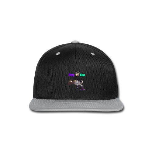 FizzyKins Design #1 - Snap-back Baseball Cap