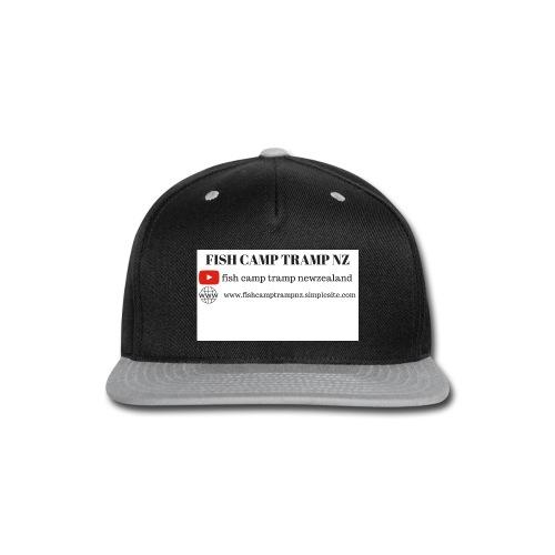fctnz white shirt - Snap-back Baseball Cap