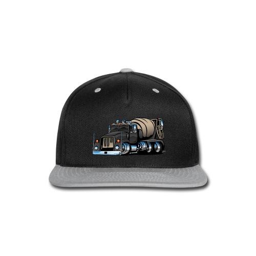 Cement Mixer Truck - Snap-back Baseball Cap