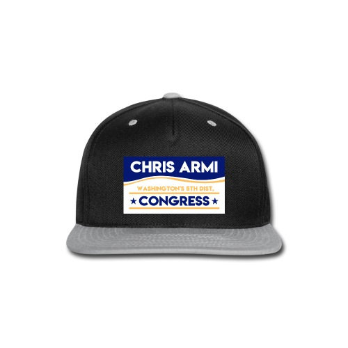 Chris Armi Sign - Snap-back Baseball Cap