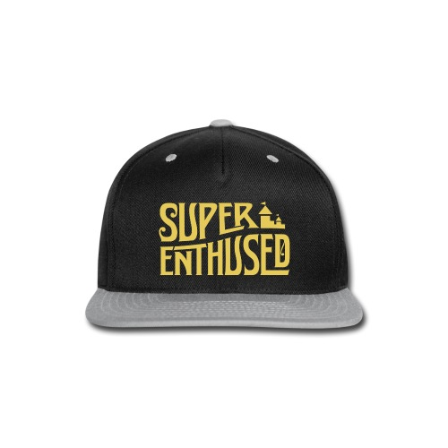 Super Enthused Castle yellow - Snap-back Baseball Cap