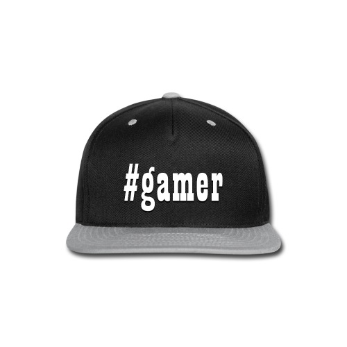 Perfection for any gamer - Snap-back Baseball Cap