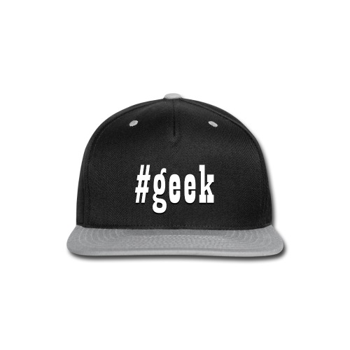 Perfect for the geek in the family - Snap-back Baseball Cap