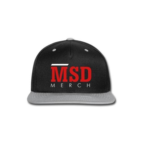 MSD Merch - Snap-back Baseball Cap