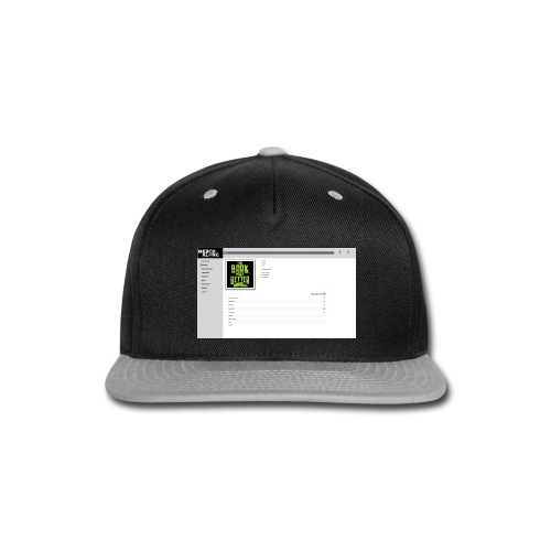test design234 Design - Snap-back Baseball Cap