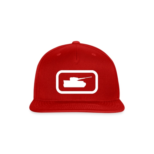 Tank Logo (White) - Axis & Allies - Snap-back Baseball Cap