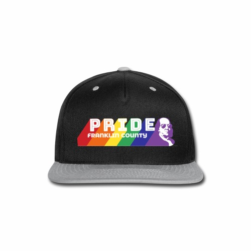 Pride Logo2 - Snap-back Baseball Cap