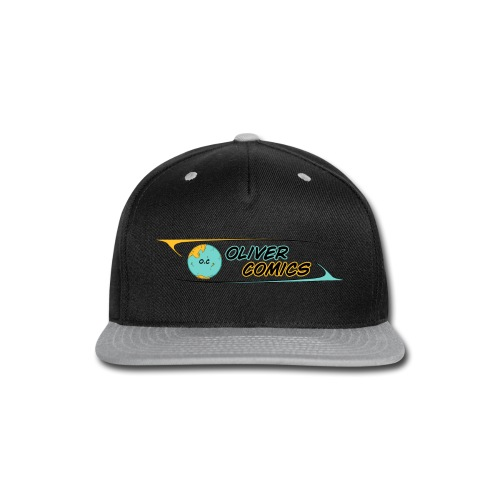 OLIVER COMICS v2 - Snap-back Baseball Cap