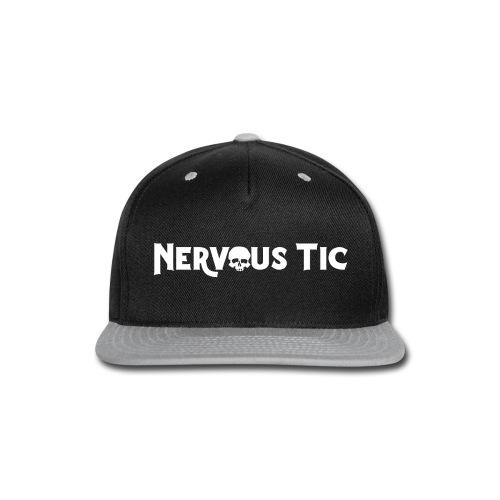 Nervous Tic Logo White - Snap-back Baseball Cap