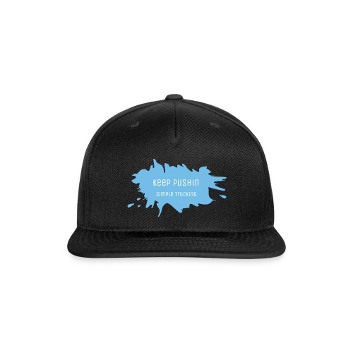 KEEP PUSHIN - Snap-back Baseball Cap