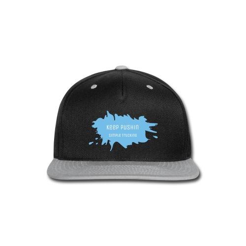KEEP PUSHIN - Snap-back Baseball Cap
