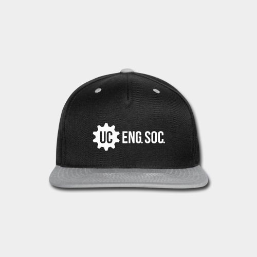 White Logo - Snap-back Baseball Cap
