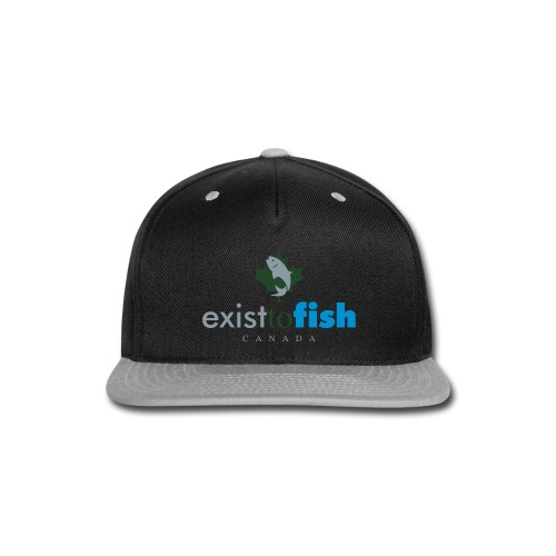 Exist To Fish Canada Color Logo - Snap-back Baseball Cap