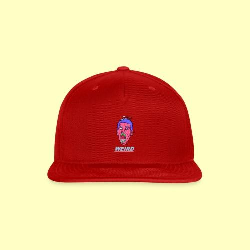 WEIRD - Snap-back Baseball Cap