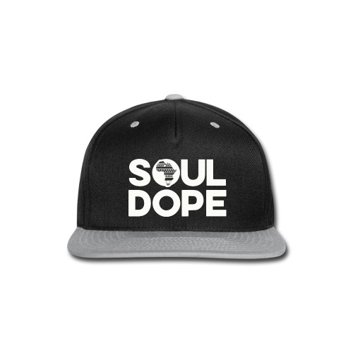 souldope white tee - Snap-back Baseball Cap