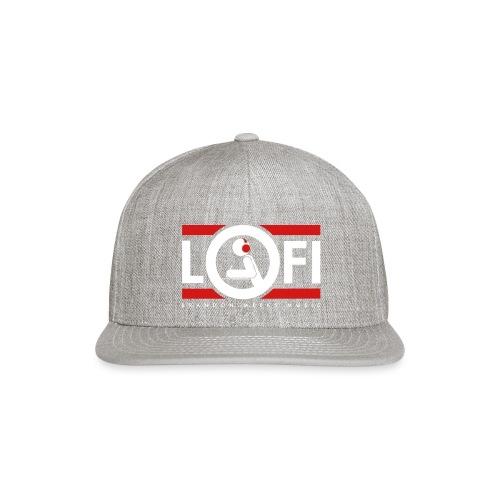LOFI Red - Snap-back Baseball Cap