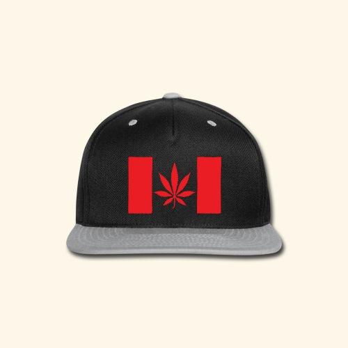 Canada's flag - Snap-back Baseball Cap
