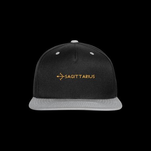 Sagittarius - Snap-back Baseball Cap