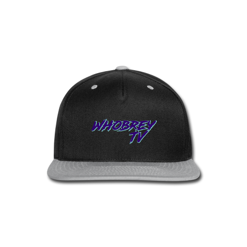 WhobreyTV RoadRage PuG - Snap-back Baseball Cap
