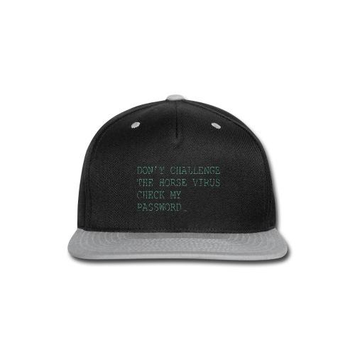 CE2_-_Horse_Virus - Snap-back Baseball Cap