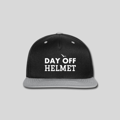 DAY OFF Helmet - Snap-back Baseball Cap