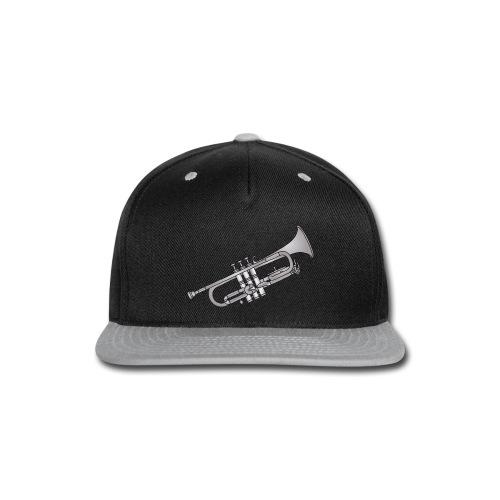 Trumpet brass instrument - Snap-back Baseball Cap
