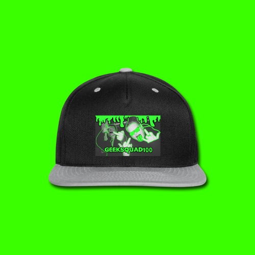 Geeksquad100 - Snap-back Baseball Cap