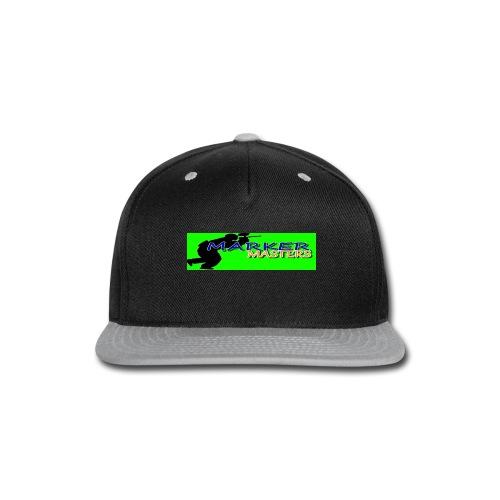 Marker Masters (Green) - Snap-back Baseball Cap