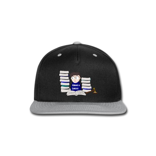 Almost a Lawyer Male Asian - Snap-back Baseball Cap