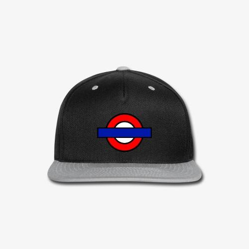 London Underground Coloured - Snap-back Baseball Cap