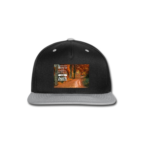 Happiness is the path - Snap-back Baseball Cap