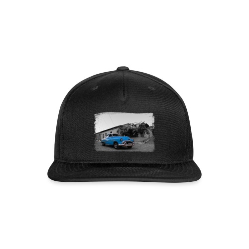 light blue car - Snap-back Baseball Cap