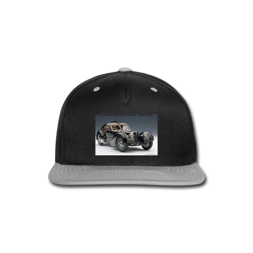 The long lost La Voiture Noire - Snap-back Baseball Cap