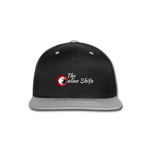 WhiteTOS1 - Snap-back Baseball Cap