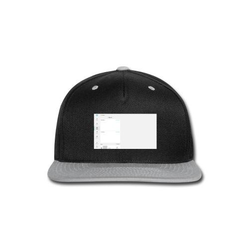 HTMLCSS - Snap-back Baseball Cap