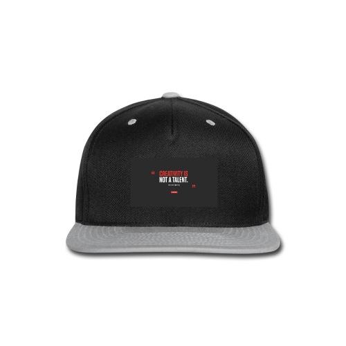 new merch - Snap-back Baseball Cap