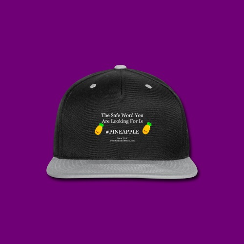 T Shirt Slogans 1 - Snap-back Baseball Cap