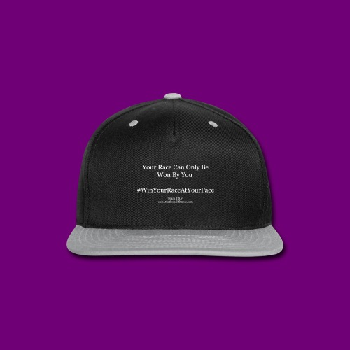 T Shirt Slogans 2 - Snap-back Baseball Cap
