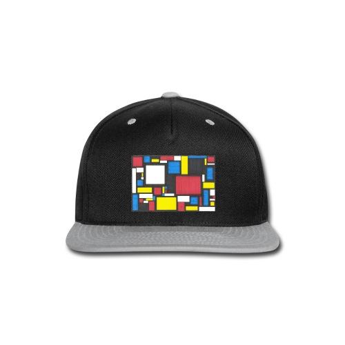 Geometric Pattern 2 - Snap-back Baseball Cap