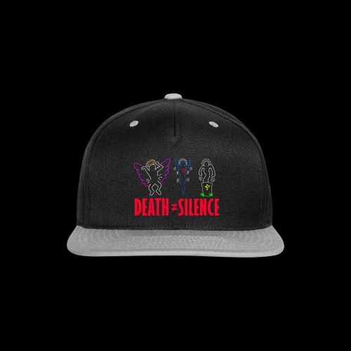 Death Does Not Equal Silence - Snap-back Baseball Cap
