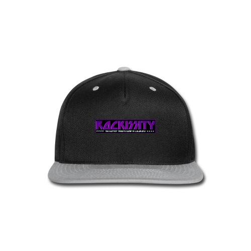 ROCKISSITY the Black Light Logo - Snap-back Baseball Cap