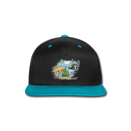 when clownfishes meet - Snap-back Baseball Cap