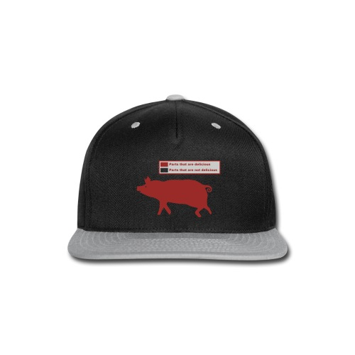 Bacon Pig Pork BBQ - Snap-back Baseball Cap