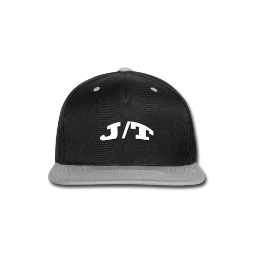 White Lettering - Snap-back Baseball Cap