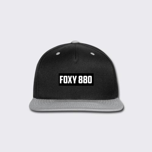 Foxy 880 - Snap-back Baseball Cap
