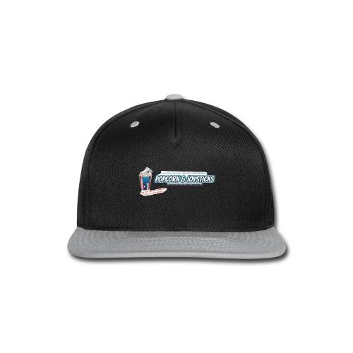 Popcorn and Joysticks Banner - Snap-back Baseball Cap